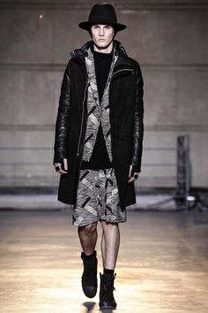 Boris Bidjan Saberi Menswear Fall Winter 2014 Paris - NOWFASHION