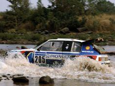 Peugeot 205 T16 rally raid car