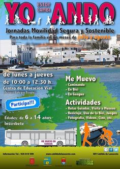 Jornadas de movilidad segura y sostenible para toda la familia - Cultura y Ocio Lanzarote