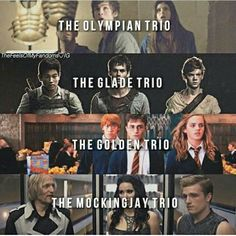TRIOs of our heroes <3 <3 <3