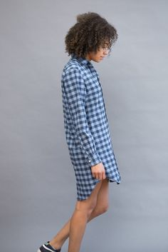 Frank & Eileen Shirt Dress Flannel