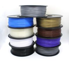 3d Printer Consumables Silver Pla 1.0kg Spool 1.75mm Filament To Adopt Advanced Technology