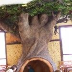 A tree to hang out in...love this classroom tree!!!!