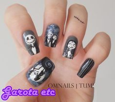 DIY halloween nails: DIY Halloween nail art : Nails arts Halloween
