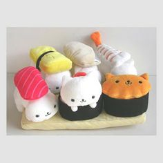 Catsparella: Sushi Cats!