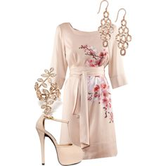 Spring Kimono - love the idea.. probably wouldnt last an hour in the shoes :o)