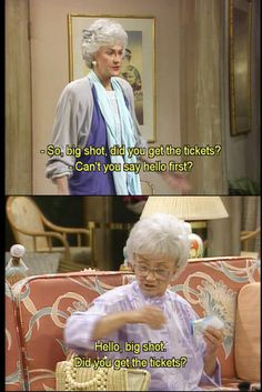 the golden girls. No words can't express how much I miss this show :( Estelle Getty, Golden Girls Quotes, Girl Quotes, The Golden Girls, Betty White, Adventure Time Funny, Dorothy Rose, Good Jokes, Fun Jokes