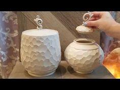 Kai ceramics:  Making Simple Finials For Lids - YouTube
