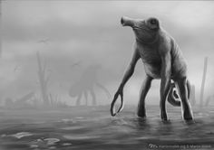 Swampmeleon The idea that I created for exercise and sketching... #digitalpainting #conceptart