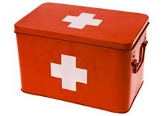 for the first aid kit