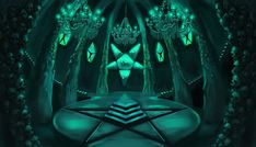 Lasombra Ritual Chamber - concept art | Vampire the Masquerade: Bloodlines Vampire The Masquerade Bloodlines, Aleister Crowley, World Of Darkness, Witch House, Fantasy Paintings, Modern City, Mythical Creatures, Occult, Paranormal