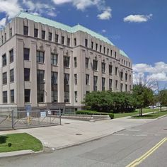 Art Deco architecture: Albert Kahn, Kresge World Headquarters, Detroit, MI, United States - street view