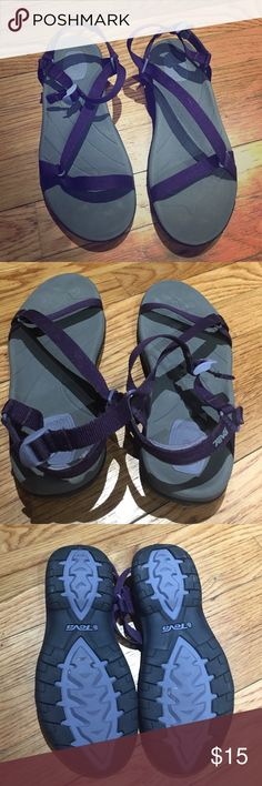 Teva sandals size 7 Teva sandals size 7. Almost new, very good condition. Good for water parks. ALL SALES ARE FINAL, ASK ALL QUESTIONS PRIOR TO PURCHASE. I AM NOT RESPONSIBLE FOR LOST OR DAMAGE PARCEL OR BUYER DISSATISFACTION Teva Shoes Sandals