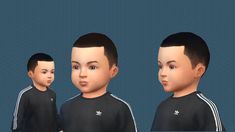 Simsworkshop: Very short almost bald haircut for toddlers - Sims 4 Hairs - http://sims4hairs.com/simsworkshop-very-short-almost-bald-haircut-for-toddlers/
