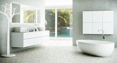 Bilderesultat for vaskeromsinnredning Home Art, Beach House, Sweet Home, Bathtub, House Design, Interior, Home Decor, Google, Envy