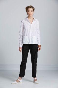 Manuscript Shirt by Kowtow. Ethical organic cotton.