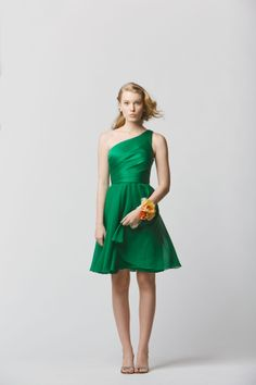 Wtoo Bridesmaids Spring 2014 Collection - green bridesmaid dress
