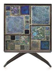 Edward Wormley, Janus Side Table for Dunbar, c1955.
