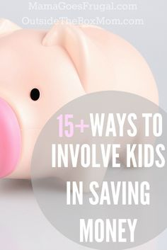 Kids can bring a different perspective, enthusiasm, and energy to the family's frugal living efforts. Find out which tactics encourage your kids to reduce expenses and in turn save your family some serious cash .   Outsidetheboxmom.com