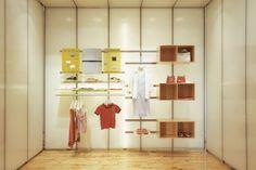 UBI Store Fixture System - Bernstein Display by Johnson Chou Inc.