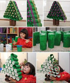 45 Price Range Pleasant Final Minute DIY Christmas Decorations others RangePleasant Price Minute Final Decorations Christmas Diy Christmas Decorations Easy, Holiday Crafts For Kids, Diy Christmas Tree, Christmas Activities, Christmas Projects, Simple Christmas, Kids Crafts, Halloween Crafts, Diy And Crafts