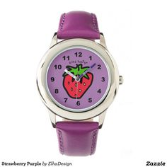 Strawberry Purple Watch