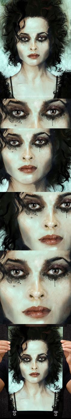 In the Fight Club! with Helena Bonham (Marla Singer) by Vlad Rodriguez