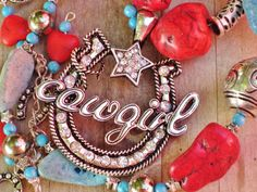 cowgirl necklace!