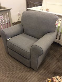 Best Chairs - Power Irvington Rocker - reg $799 - sale $649 & Best Chairs - Sona Glider Rocker u0026 Ottoman in