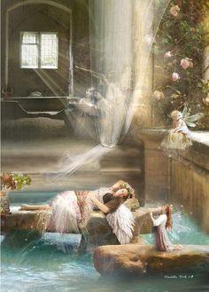 Hall of angels *~❤•❦•:*´`*:•❦•❤~* Charlotte Bird