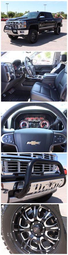 New 2015 Chevrolet Silverado Black Widow