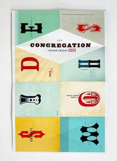 the congregation of design freaks 2009