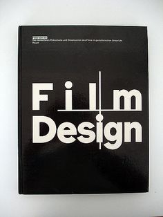 Published in 1983, this book by Von Arx, teaching alongside Wolfgang Weingart and Armin Hofmann at the Basel School of design, instructs on the use of design in film.