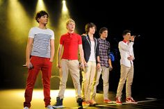 One Direction's 11 Best On-Stage Style Moments of All Time: Performing in London, January 2012