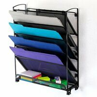 For filing & mail use j-pegs to mount on pegboard. Item is also on Amazon.com & toyboxtech.com