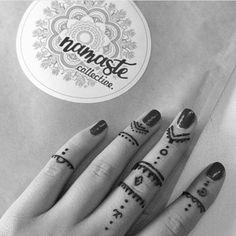 Gypsy fingers ✨ || Via @kyra_tamara_