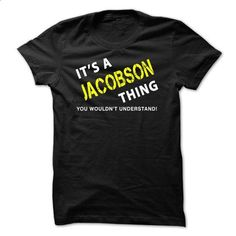 It is a JACOBSON Thing Tee - make your own shirt #champion hoodies #cool t shirts for men
