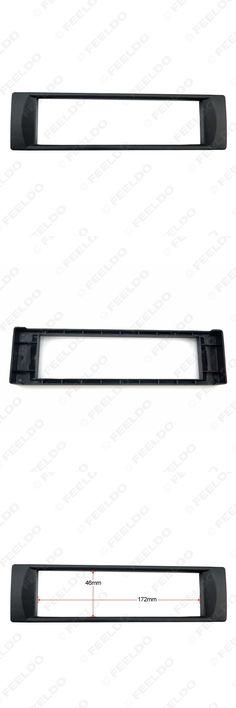 [Visit to Buy] Car 1DIN Radio Fascia Panel for Audi A6 2003 Stereo Facia Frame Panel Dash Mount Kit Trim Bezel Facia #FD-2346 #Advertisement