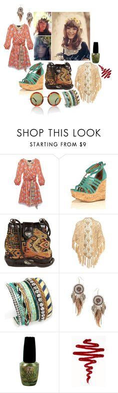 """""""Sunshine Woman"""" by misspamela ❤ liked on Polyvore featuring Sretsis, Fantasy Jewelry Box, Dorothy Perkins, OPI and The Row"""