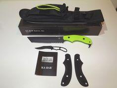 Ka Bar Zombie Famine Tanto Fixed Blade Knife w Sheath 5700 Free Knife | eBay