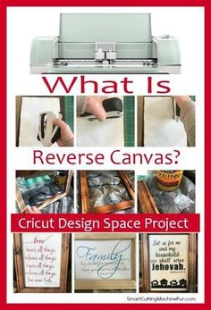 What Is Cricut Reverse Canvas? – Sandy Saringer What Is Cricut Reverse Canvas? What is Reverse Canvas Project? Super simple Cricut Design Space Project that you can make today with HTV and canvas. You are going to love this! Space Projects, Vinyl Projects, Diy Craft Projects, Project Ideas, Space Crafts, Design Projects, Cricut Air 2, Cricut Vinyl, Cricut Craft