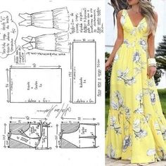 The photo Фотография The photo Skirt Patterns Sewing, Sewing Patterns Free, Clothing Patterns, Fashion Sewing, Diy Fashion, Origami Fashion, Moda Fashion, Fashion Details, Diy Clothing