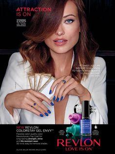 Revlon Advertising with Olivia Wilde
