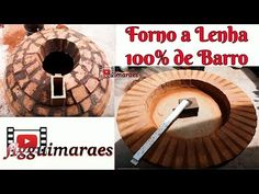 Como Fazer Forno a Lenha. - YouTube Piscina Spa, Bread Oven, Pizza Oven Outdoor, Wood Fired Oven, Backyard Patio Designs, E Design, Youtube, 36, Wood Fired Pizza