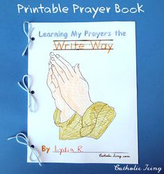 printable prayer book for catholic kids