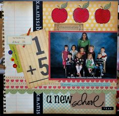 A new school year layout - Juna
