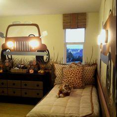 Safari Room so cool love the car!