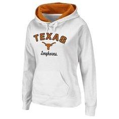 Texas Longhorns Ladies Hoodie Embroidered Pullover