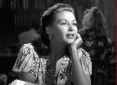 """Yvonne de Carlo in """"Criss Cross"""", 1949"""