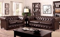 Standford Brown Fabric Sofa Set Living Room Set - Sofa Living - ideas of Sofa Living - Standford Brown Fabric Sofa Set Living Room Set Price : Cheap Living Room Sets, Living Room Grey, Living Room Sofa, Living Room Furniture, Bathroom Furniture, Living Rooms, Leather Sofa Set, Leather Furniture, Leather Sectional